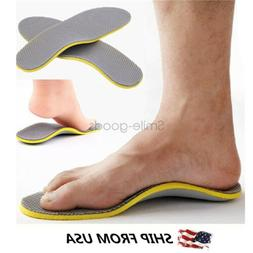 Pair Orthotic Premium Shoes Insoles Arch Support Insert High